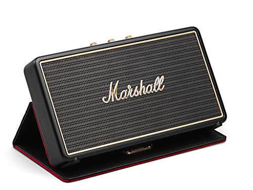Marshall Stockwell Portable Bluetooth Speaker with Case (Black)