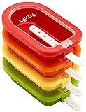 Lékué - Pack Moule à glace empilable Mini 10,5 cm, 4 pièces