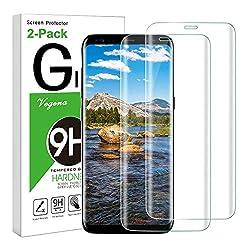 Kaufen Vegena [2 Stück] Galaxy S8 Plus Panzerglas Schutzfolie, 9H Gehärtetem Glas HD Klar Anti-Kratzer Volle Abdeckung Panzerglasfolie Hartglas Displayschutzfolie Displayschutz für Samsung Galaxy S8 Plus