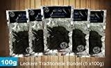 The Biltong Man Bündel - Leckere traditionelle, 5er Pack (5 x 100)