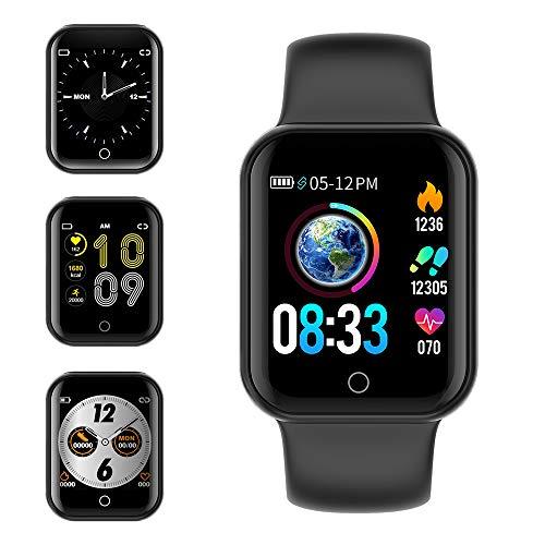 KUNGIX Smartwatch Orologio Fitness Trakcer Pressione Sanguigna Monitor Cardiofrequenzimetro da Polso...