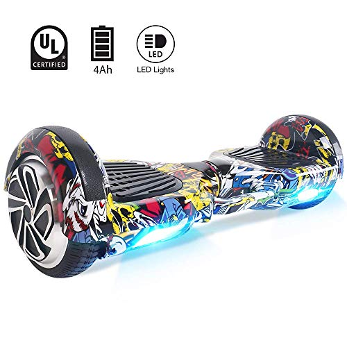Windgoo Hoverboard 6.5 Pollici Overboard Self Balance Scooter 700W Motore, Hoverboard Elettrico con...