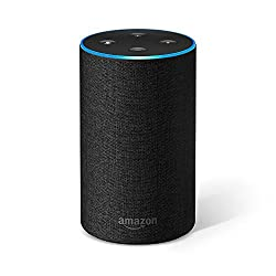 Kaufen Amazon Echo (2. Generation), Intelligenter Lautsprecher mit Alexa, Anthrazit Stoff