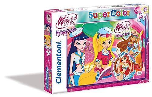 Clementoni Supercolor Puzzle-Winx, Multicolore, 26589