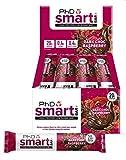 PhD Nutrition Smart Bar, Dark Chocolate and Raspberry, 12 x 64g