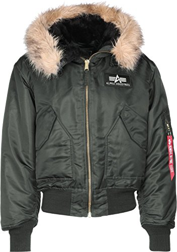 Alpha Industries 45 P Hooded Giacca rep. grey