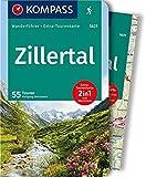 Zillertal: Wanderführer mit Extra-Tourenkarte 1:50.000, 55 Touren, GPX-Daten zum Download: Wandelgids met overzichtskaart (KOMPASS-Wanderführer, Band 5631)