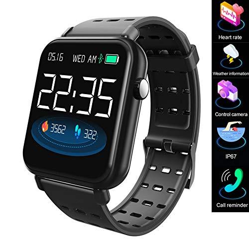 Smart watch/smart bracciale 2019, fitness tracker, con misuratore di frequenza cardiaca per la...