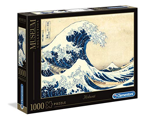 Clementoni - 39378 - Museum Collection Puzzle - Hokusai, The Great Wave - 1000 Pezzi