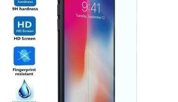 45864d4bb6d Electrónica Rey - Protector de Pantalla para iPhone XR, Cristal Vidrio  Templado Premium