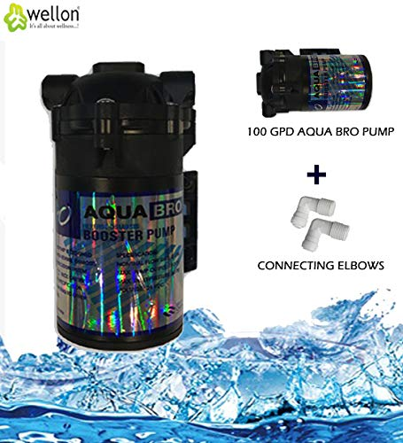 Wellon Aqua Bro 100 GPD Booster Pump for All Types of Water Purifier(Black)