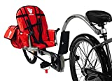 Weehoo Kids' IGO Venture Trailer Tagalong Bike, Red, 4-9 Years