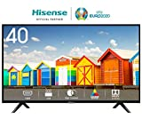 HISENSE H40BE5000 TV LED HD, Natural Colour Enhancer, Clean Sound, Motion Picture Enhancer, Tuner DVB-T2/S2 HEVC, 2 HDMI, USB Media Player