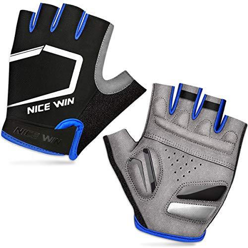 LOHOTEK Half-Finger Sports Gloves (Nero, M)