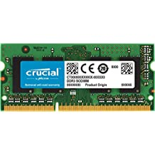 Crucial CT2G3S1339MCEU 2 GB (DDR3L, 1333 MT/s, PC3-10600, SODIMM, 204-Pin) Memory for Mac