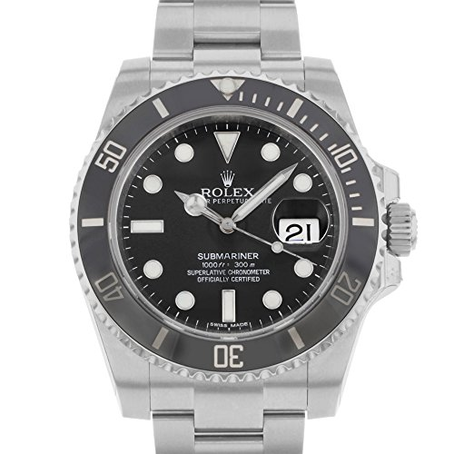 Rolex Oyster Perpetual Submariner Date Two-Tone Steel Mens Watch 11613BL - 2