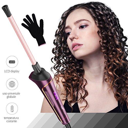 HS Onsing 9mm, piastra per ricci in ceramica, per creare ricci e acconciature afro su capelli...