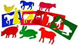 Henbea - Plantillas Animales de la Granja (716)