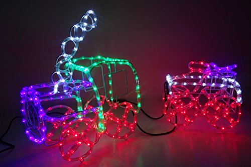 Christmas-Concepts-100cm-Multi-Colored-3D-LED-Static-Rope-Light-Train-Carriage-Dcorations-de-Nol-intrieuresextrieures