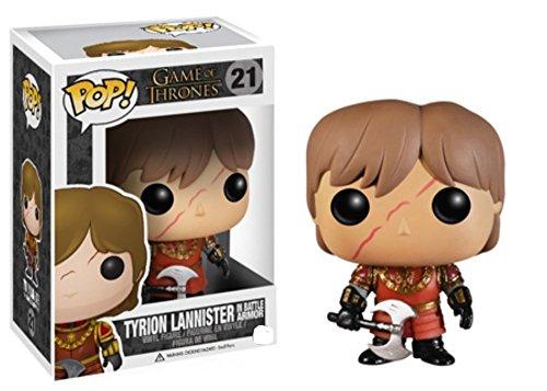 Pop! - Figura de Tyrion con armadura de batalla de Game Of Thrones, 10 cm (Funko FUNVPOP3779)
