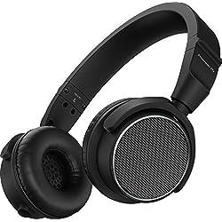 Pioneer DJ® - Auriculares de diadema, color negro (HDJ-S7-K)