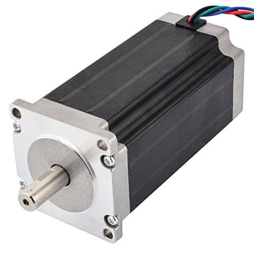 Caratteristiche elettriche: Codice del produttore: 23HS45-4204S Tipo di motore: Bipolare. Angolo di passo: 1,8 gradi.  Modalità di tenuta: 3,0 Nm. Corrente nominale/fase: 4.2A Resistenza di fase: 0,9 ohm Tensione di alimentazione: 3,78 V. Ind...