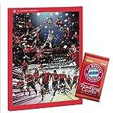 FC Bayern München - Schoko Adventskalender 2018 mit Autogrammkarten und 5 Euro Fanshop Gutschein + 1 FC Bayern Booster 2018