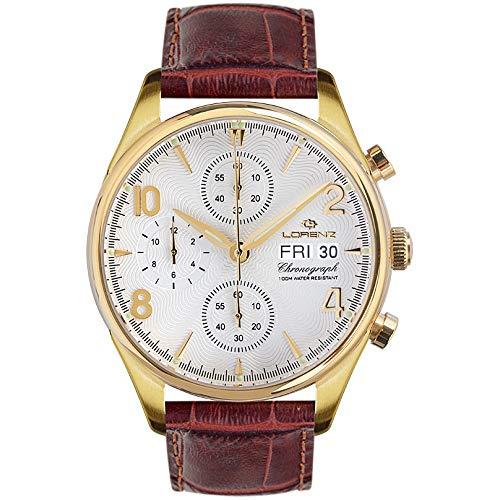 orologio cronografo uomo Lorenz 1934 trendy cod. 030110CC
