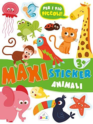 Animaletti. Maxi sticker. Con adesivi. Ediz. a colori