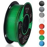 Filament PLA 1.75mm, Eryone PLA Filament 1.75mm, Imprimante 3D Filament PLA Pour Imprimante 3D, 1kg 1 Spool,Vert