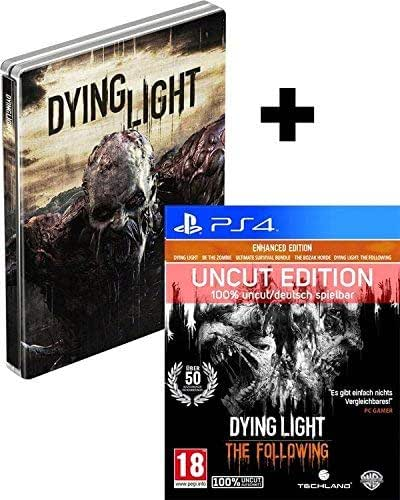 Dying Light The Following STEELBOOK Edition (Deutsche Verpackung) - 100% Uncut/PEGI