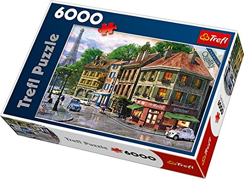 Trefl - 65001 - Classico Puzzle - Rue De Paris - 6000 Pezzi