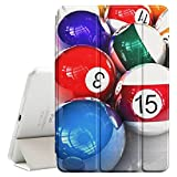 Graphic4You Billar bola 'Bola 8' Funda Carcasa con Stand Función y Imán Incorporado para el Sueño/Estela para Apple iPad Pro (10.5')