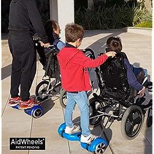 Asistente eléctrico para sillas de ruedas manuales AidWheels