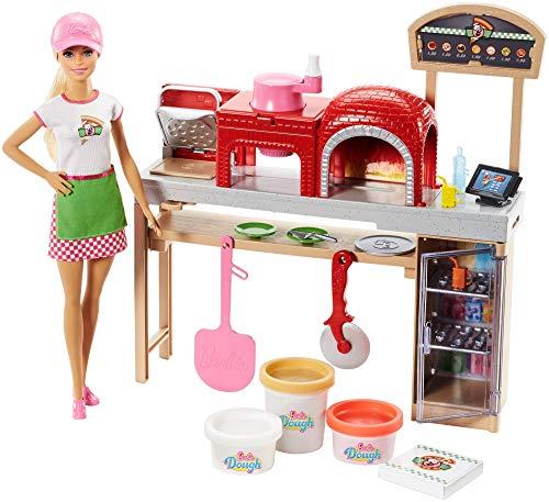 Mattel Barbie - Cucina da sogno set con bambola e vari accessori