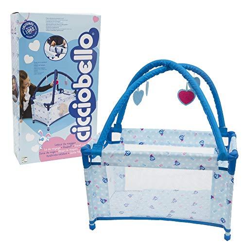 Giochi Preziosi Cicciobello Travel Bed, Lettino Pieghevole con Accessori