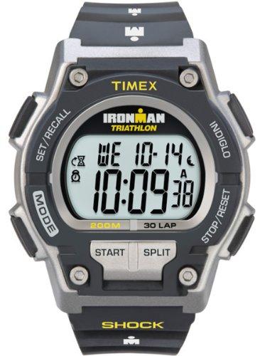 Timex Orologio Digitale al Quarzo Uomo con Cinturino in Resina Ironman T5K195