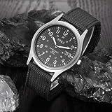 SOKI Quartz Military Army Sport Men's Wrist Watch Dial Calendar Watches Alloy Black