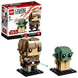 Brickheadz Luke Skywalker e Yoda, 41627