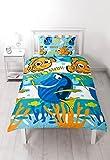 Set de funda de edredón individual, multicolor, «Buscando a Nemo» de Character World