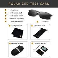 SUNMEET-Gafas-de-Sol-Hombre-Polarizadas-Deportes-100-Proteccin-UV-Gafas-de-sol-para-Hombre-Conduccin-S1008