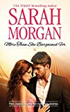 More than She Bargained For: The Prince's Waitress Wife / Powerful Greek, Unworldly Wife (Mills & Boon M&B)