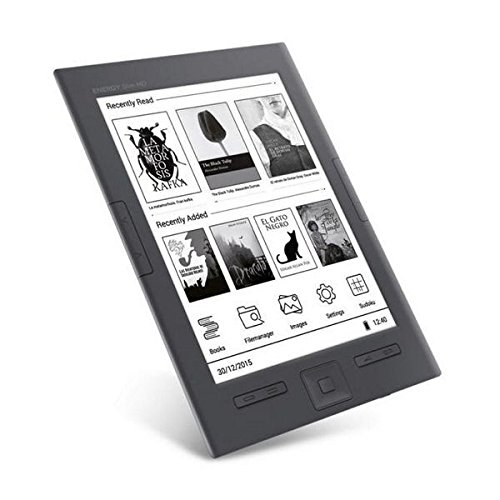 Energy Slim HD - eReader (6', Eink Carta HD, Ultraligero, 8GB, botón lateral paso de pagina)