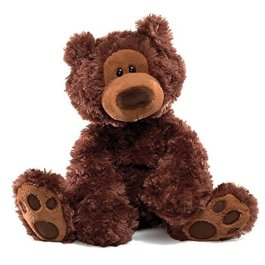 Gund Philbin Bear Small 33 cm (Chocolate)