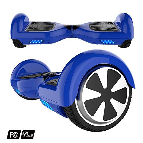 Hoverboard con Ruote 6.5 Pollici, Balance Board SUV off-Road, 700W con LED
