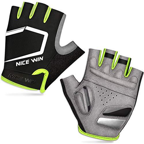 LOHOTEK Half-Finger Sports Gloves (Giallo, M)