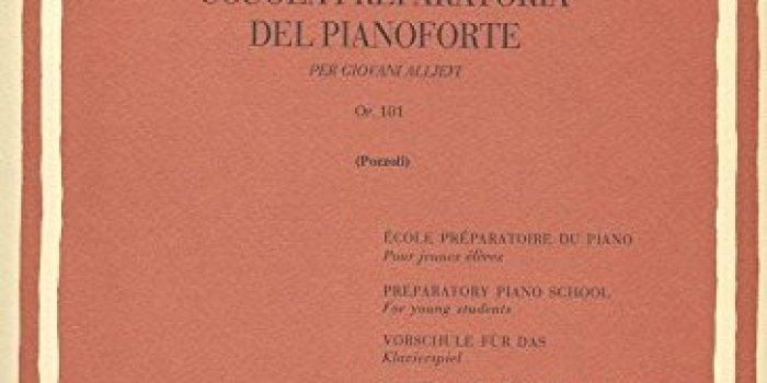 SCUOLA PREPARATORIA DEL PIANOFORTE OP. 101- PER GIOVANI ALLIEVI