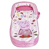 Peppa Pig - Mi primera ReadyBed - Cama hinchable y saco de dormir infantil dos en uno