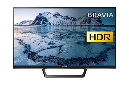 Sony Bravia KDL32WE613 (32-Inch) HD Ready HDR Smart TV (X-Reality PRO, Slim and streamlined design) - Black (2017 Model)