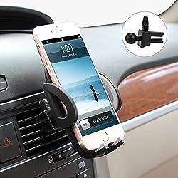 Kaufen Avolare Handyhalterung Halter Auto Lüftung Lüftungsschlitz Belüftung Universale Autohalterung Phone Halter [ Einzigartiges Design, Hohe Qualität ] für iPhone, Samsung, Huawei, LG und mehr (Produktmaße: 11cm*7cm*6,5cm)
